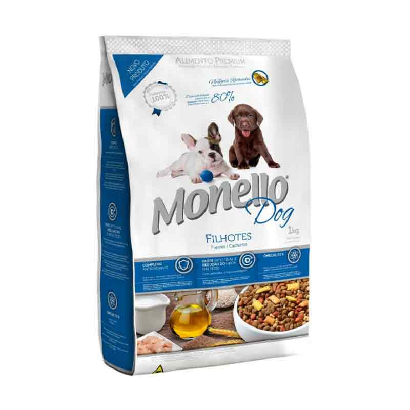 Makanan anak anjing (puppies) Monello Premium Dog Fillhotes (puppies) 8 Kg