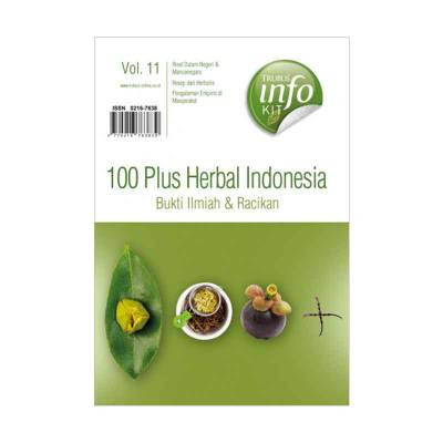 Buku 100 Plus Herbal Indonesia (Bukti Ilmiah dan Racikan Vol. 11)