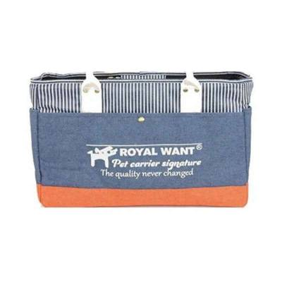 Tas Hewan Peliharaan Royal Want Pet Carrier Original Signature