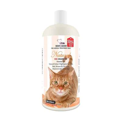 BIS Natural Red Cat Shampoo 200+50 ml