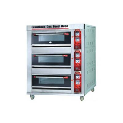Gas Deck Oven Model BOV-ARF90H (3D9T) FMC
