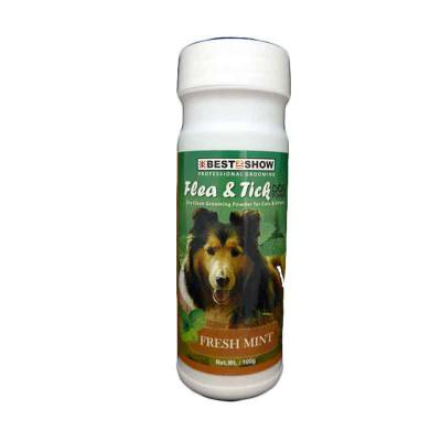 Best In Show Pet Powder Flea & Tick for Dog 100gr