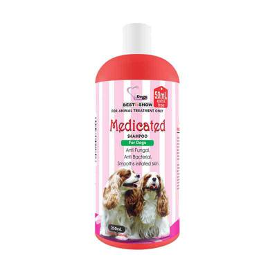 BIS Medicated Shampoo for Dog 200+50 ml