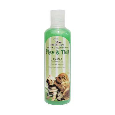 BIS Flea & Tick Shampoo for Dog 200+50 ml