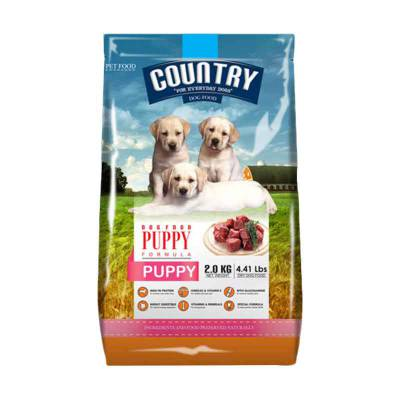 Makanan Anak Anjing Country Puppy 2Kg