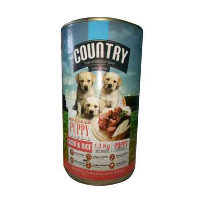 Makanan Anjing Country Puppy Lamb & Rice Can 1200gr