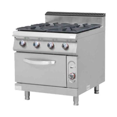 Gas Stove Burner With Oven Model MS-E-RQB700 4S Masema