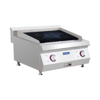 Gas Style Lava Rock Grill Model MS-E-RQH 600 Masema