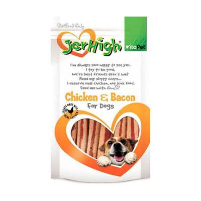 Snack Anjing Jerhigh Bacon