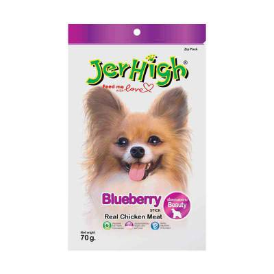 Snack Anjing Jerhigh Blueberry