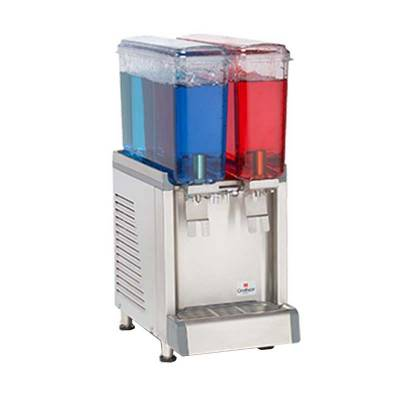 Juice Dispenser Mini 2 Bowl 9L Tipe CS-2E Crathco