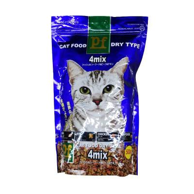 Makanan Kucing Pet Forest 4 Mix 500 gr