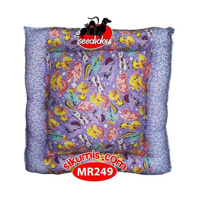 Kasur Anjing M 75X75CM Motif MR249 Little Pony Pet Bed