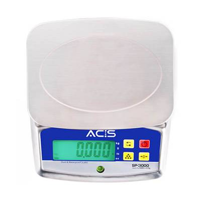Digital Scale Splash Proof (Egg) Sp-3000