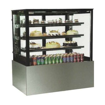 Rectangular Cake Showcase Stainless Steel/Alat Display Kue Model MS-RCS120 Masema