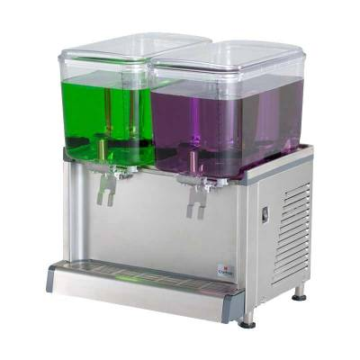 Juice Dispenser 2 Bowl 19L Tipe CS-2D Crathco