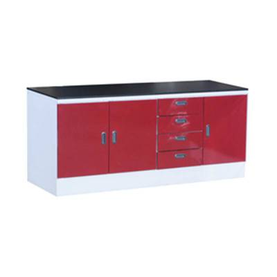 Meja Lab Steel Material / Wall Bench Polos Type I (Granite) 300x75x85