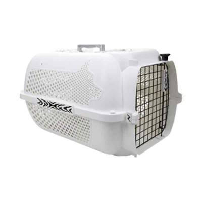 Kandang Kargo Anjing Dog It 300 Voyageur White/Black Tiger Accents