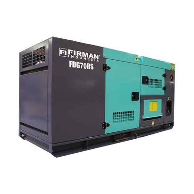 Genset Diesel Model FDG70RS 70 KVA Firman