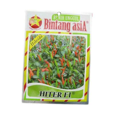 Benih Cabe Rawit - Hiter F1 (Small Pouch)