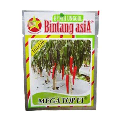 Benih Cabe Besar - Megatop (Small Pouch)
