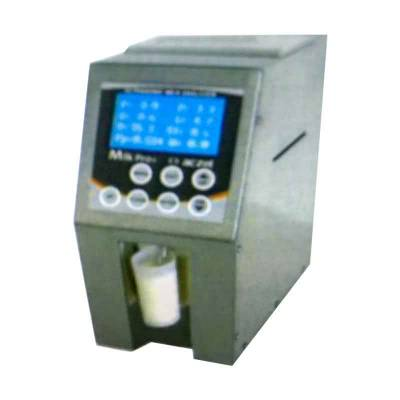 Ultrasonic Milk Analyzer