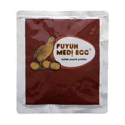 Multivitamin Puyuh Medi Egg 100 g