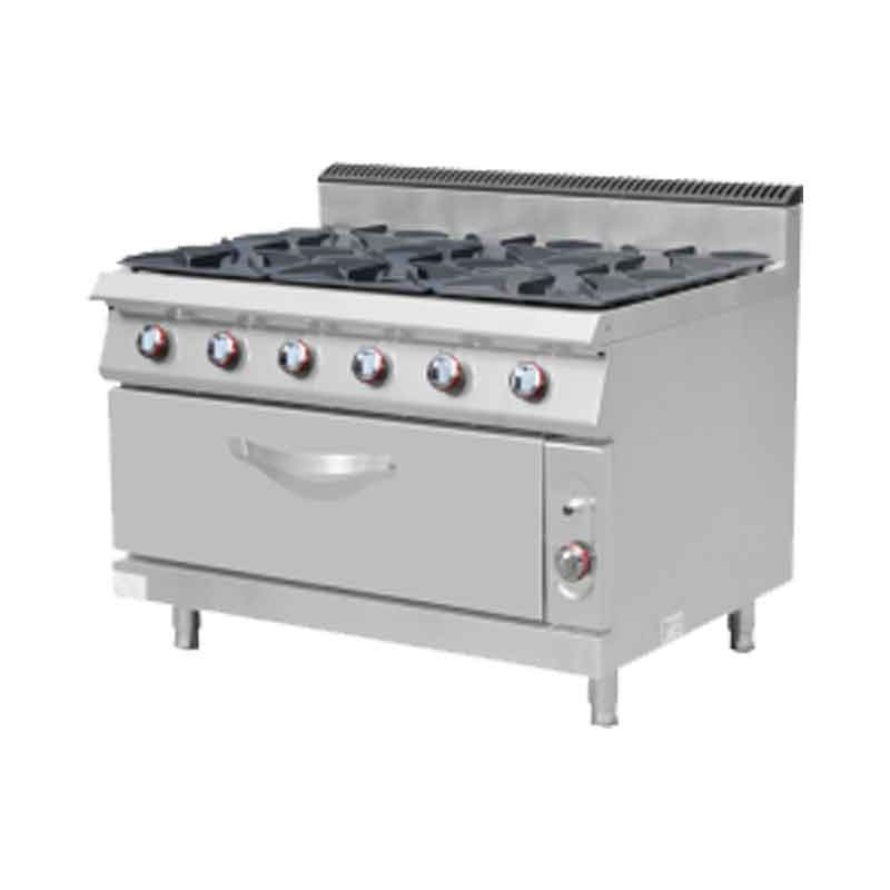 Gas Stove Burner With Oven Model MS-E-RQB700 6S Masema