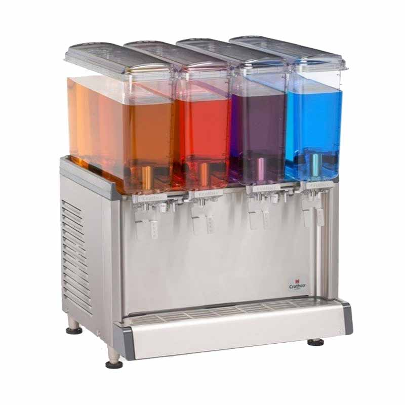 Juice Dispenser Mini 4 Bowl 9L Tipe CS-4E Crathco