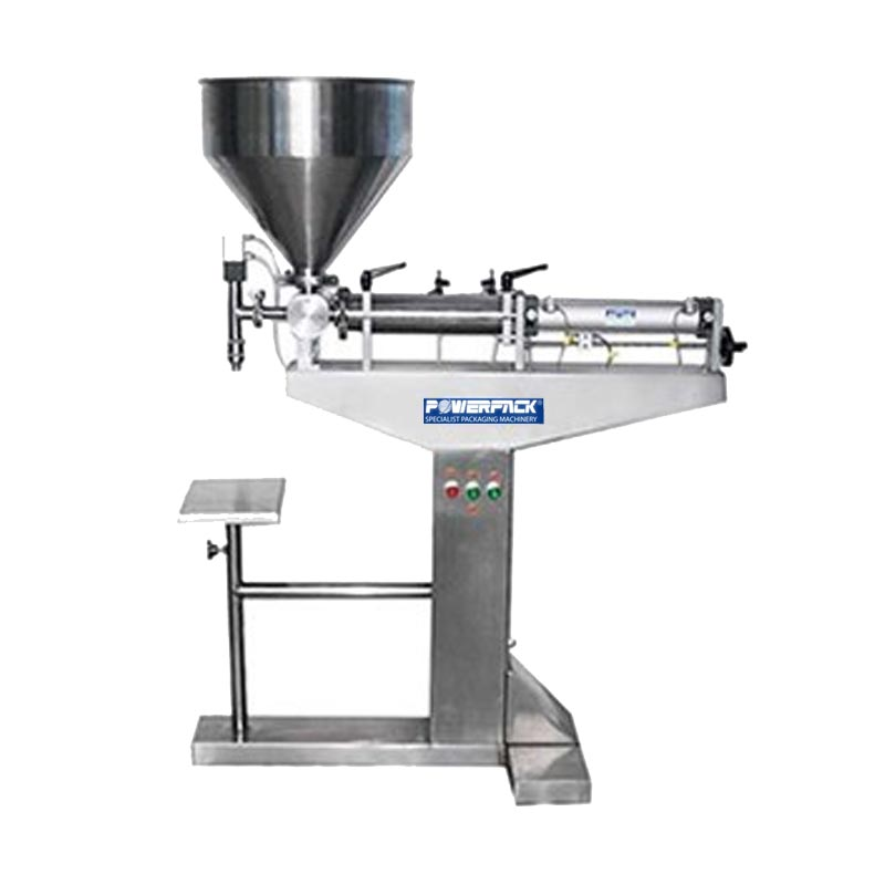 Paste Piston Filler Model PPF-500 Powerpack